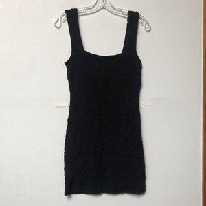 Free people body con dress LBD little black dress